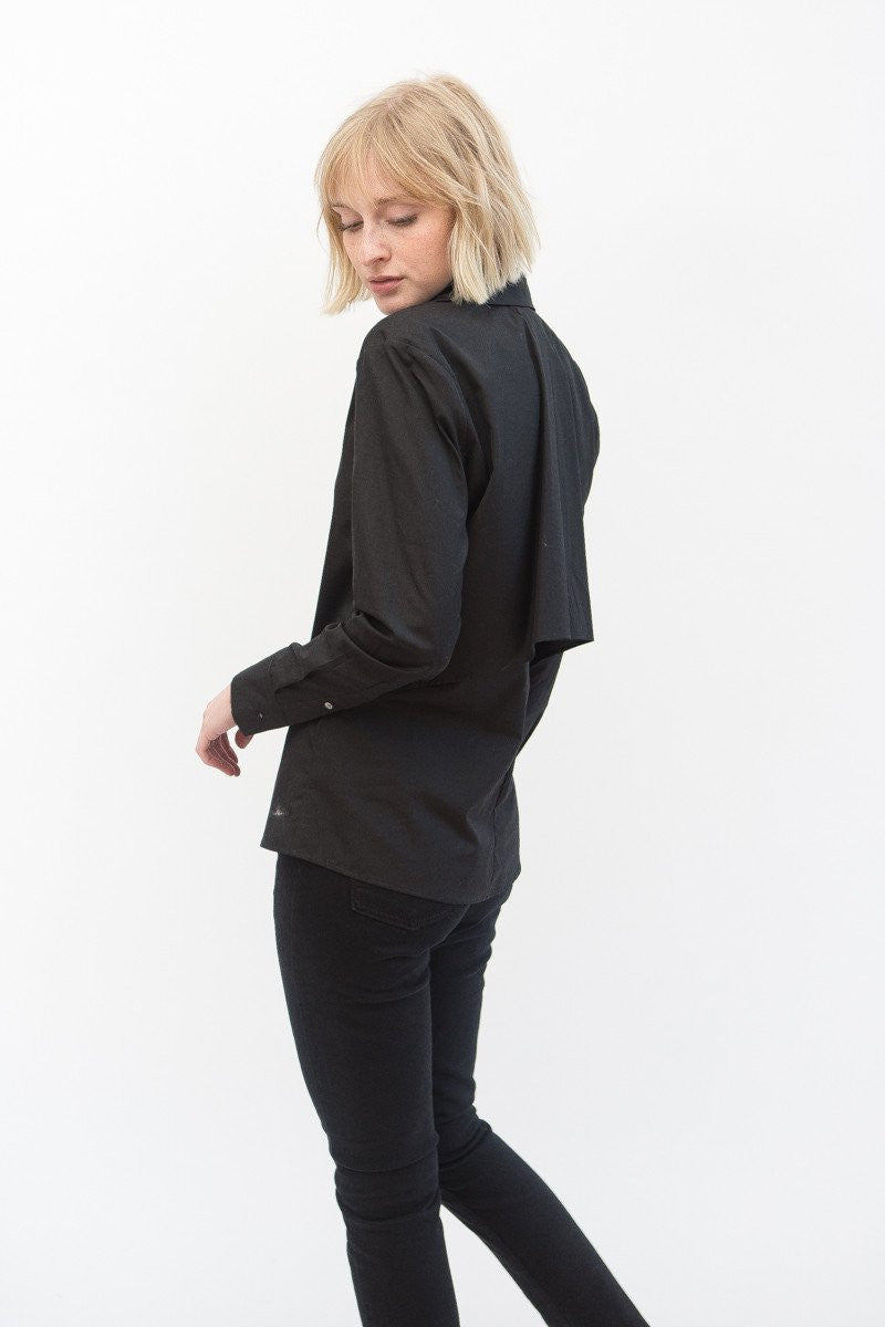 Mona Thalheimer Cotton Shirt With Cape