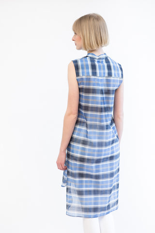 Mona Thalheimer Sleeveless Dress With Pockets