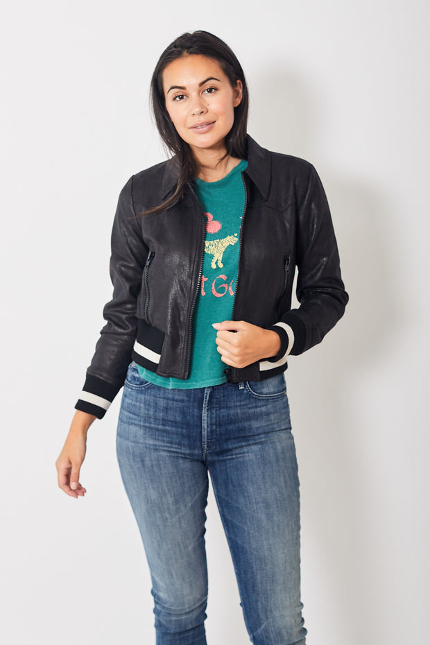 Mother Denim The Easy Rider Jacket