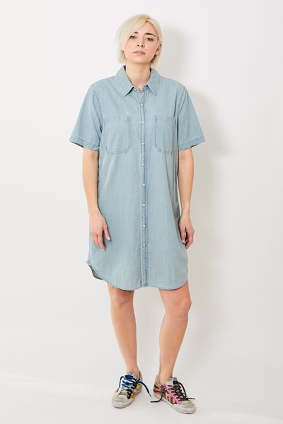 Mother Denim The Frenchie SS Knee Dress
