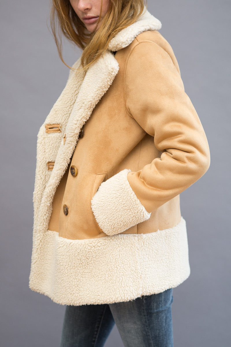 Mother Shearling Jacket - grethen house