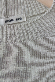 Evam Eva Silk Cotton Wide Pullover