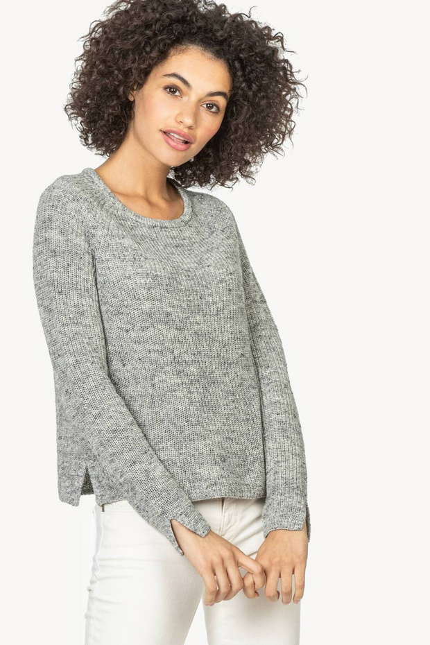 Lilla P Long Sleeve Crewneck Sweater