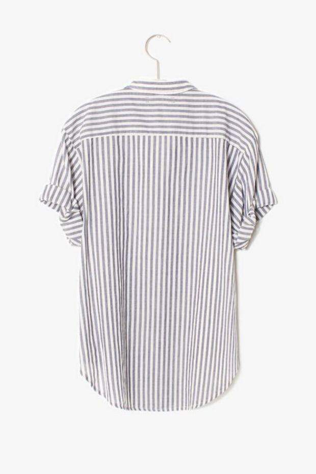 Xirena Striped Channing Shirt
