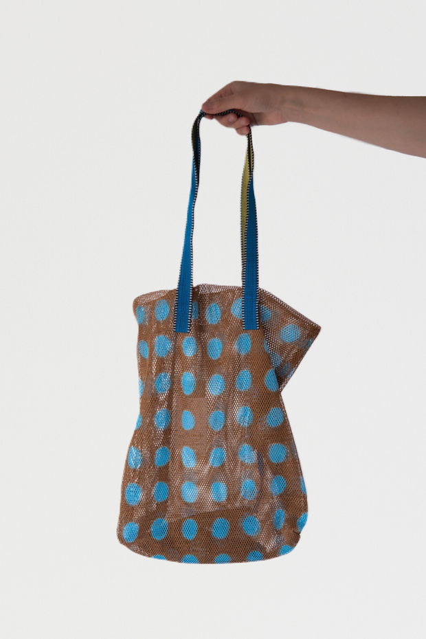 Épice Large Mesh Polka Dot Bag