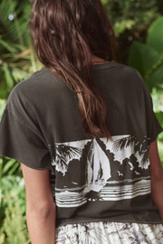The Great The Crop Tee w/ Paradise Graphic
