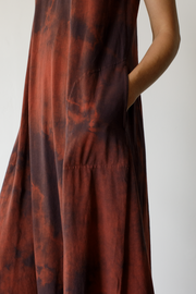 Raquel Allegra Sleeveless Drama Maxi Dress