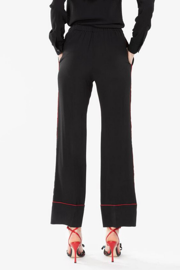 N°21 Front Lace Pant w/ Red Piping
