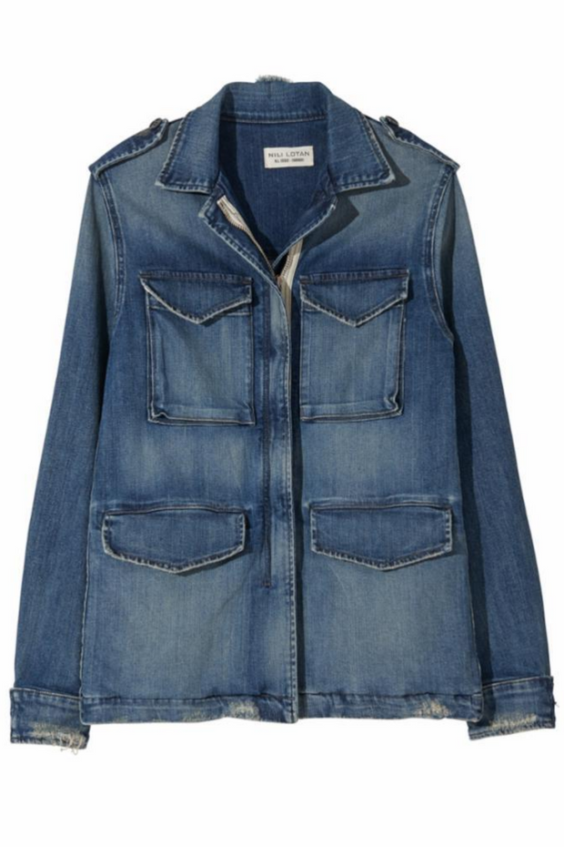 Nili Lotan Denim Wren Jacket
