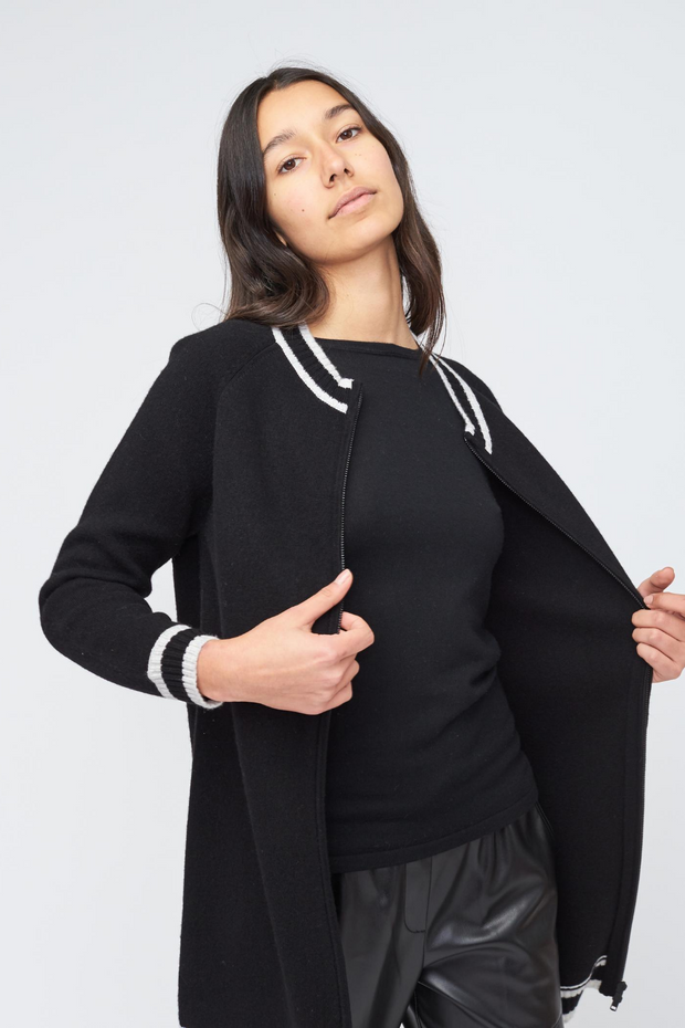 Kokun Varsity Sweater Jacket