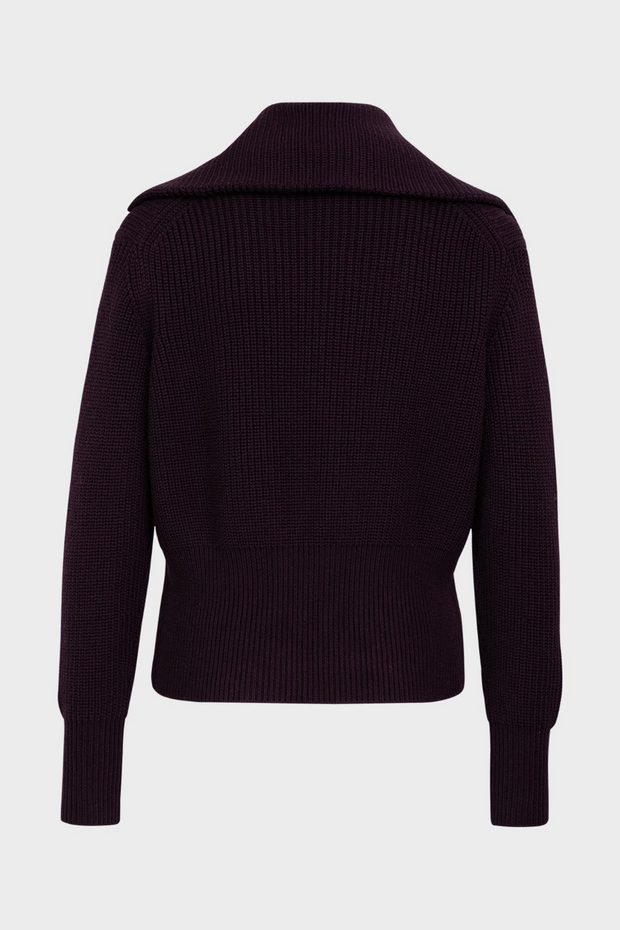 Odeeh Zip Up Turtleneck Cardigan