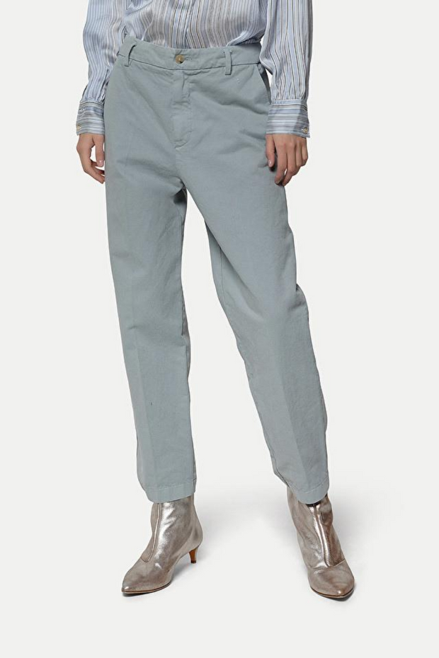 Forte Forte Frosted Cotton Elasticated Pants