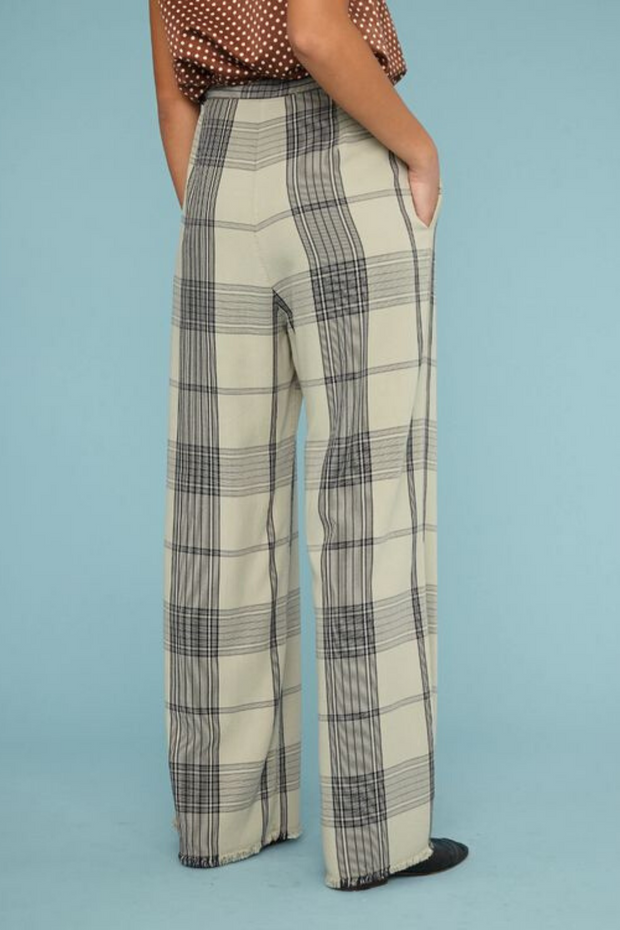 Raquel Allegra Paper Bag Trouser