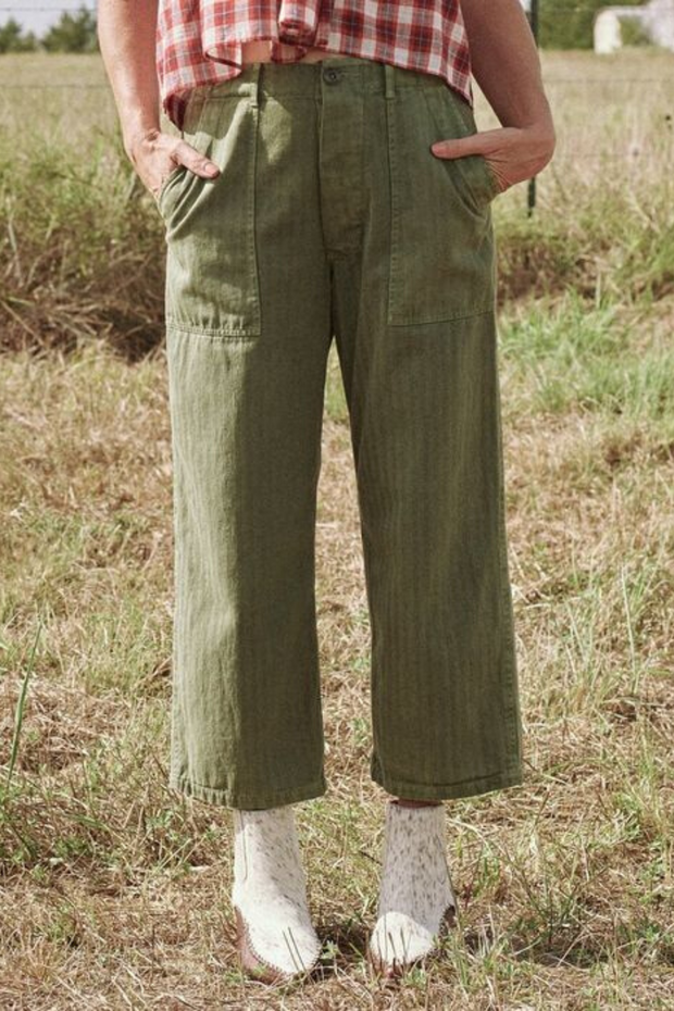 The Great The Herringbone Trooper Pant