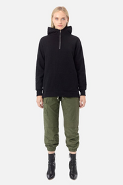 John Elliott Half Zip Hooded Villain