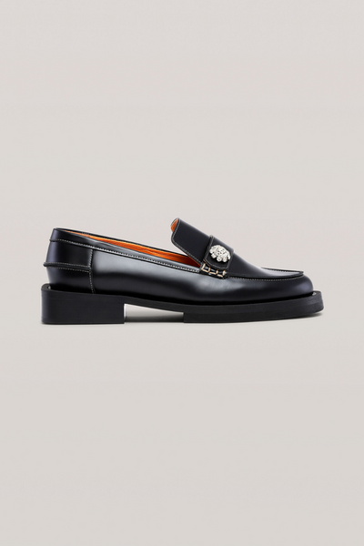 Ganni Jewel Loafers