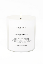 True Hue Holiday Collection Soy Candle