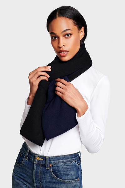 White + Warren Puffer Scarf