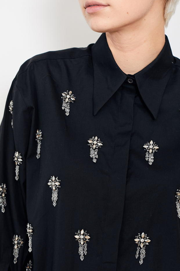 N°21 Button Down Shirt w/ Embellishments