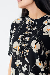 N°21 Floral Blouse with Ruffle Detail