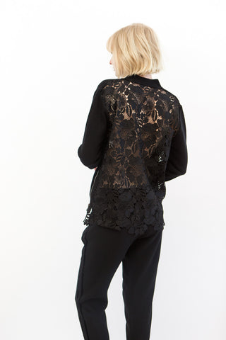 N°21 Lace Back Cardigan