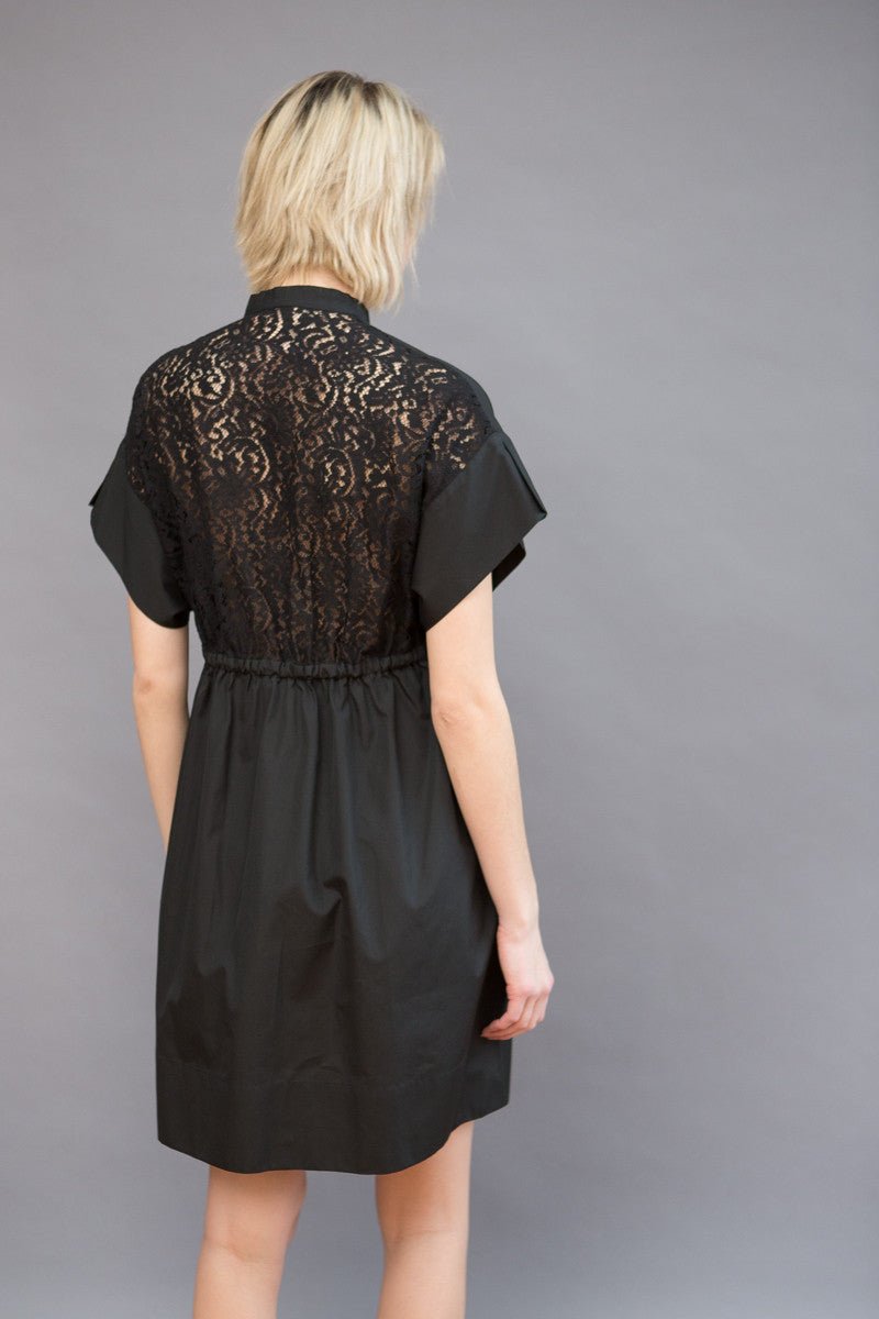 N°21 Lace Back Dress with Ties