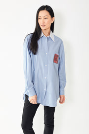 N°21 Picture Pocket Cotton Button Up