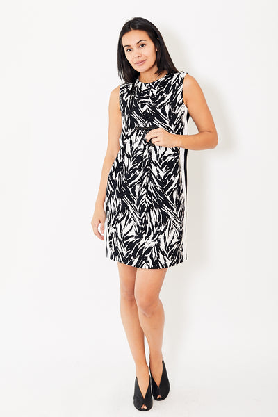 N°21 Print Dress with Bow