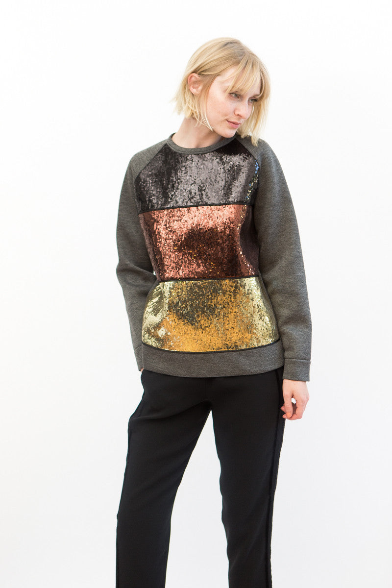 N°21 Sequin Sweatshirt