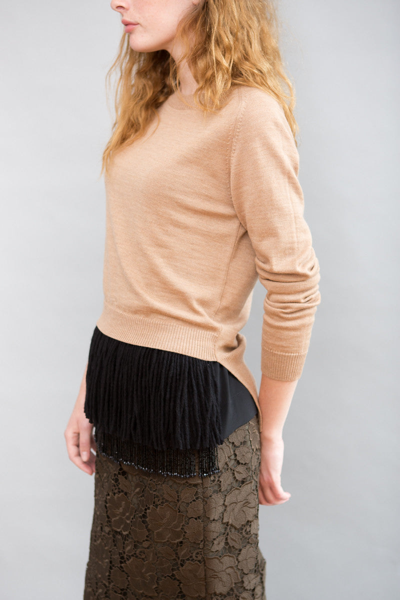 N°21 Sweater With Bottom Detail