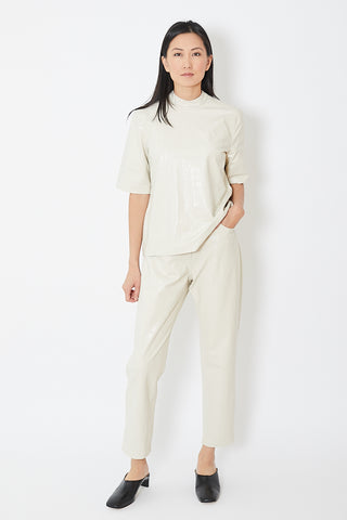 Nanushka Ivy Vegan Croco Mom Pants
