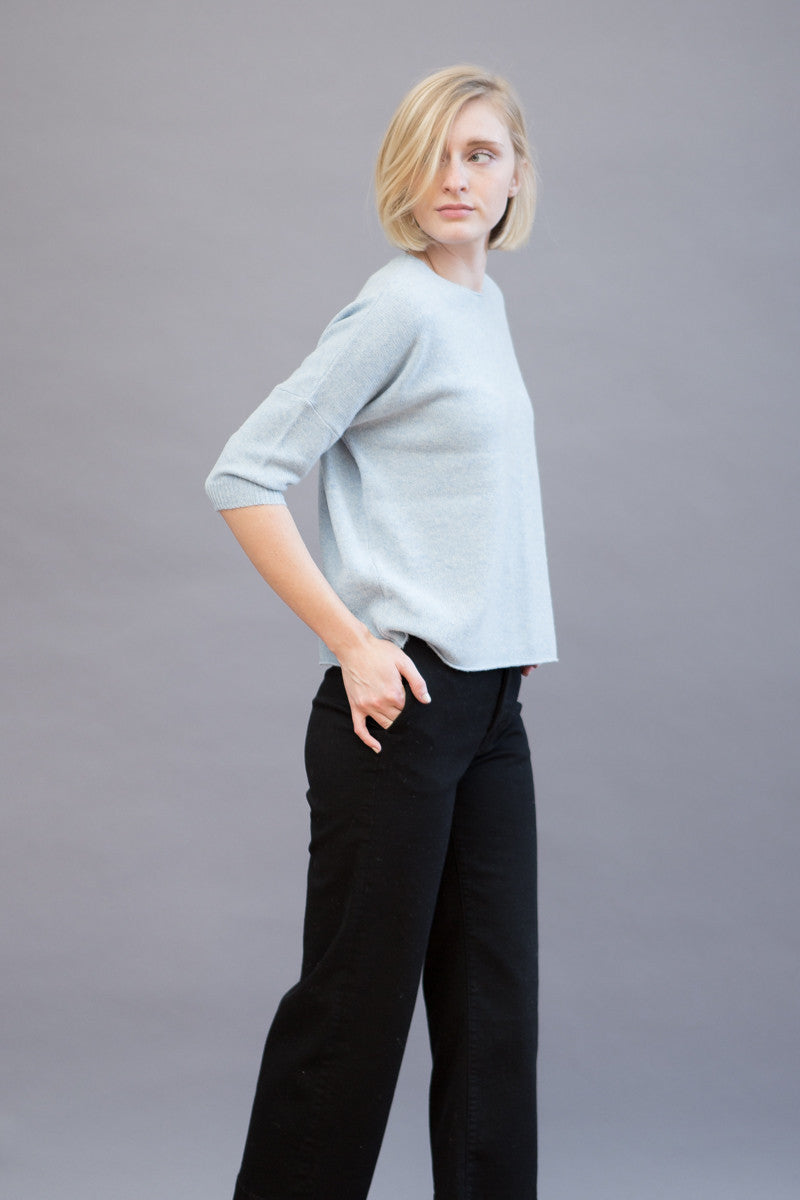 Organic by John Patrick Crop Elbow Sleeve