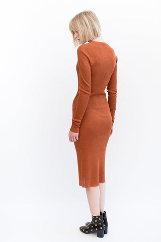 Organic by John Patrick Ribbed Dress