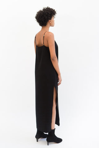 Organic by John Patrick Slit Slip Dress