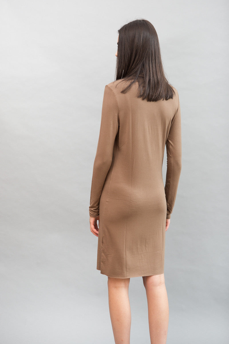 Organic by John Patrick Turtleneck Dress