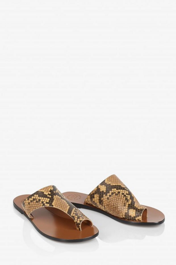 ATP All Tomorrow's Parties Rosa Printed Snake Sandal