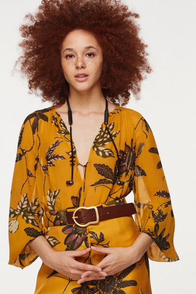 Dorothee Schumacher Floral Transparencies Blouse