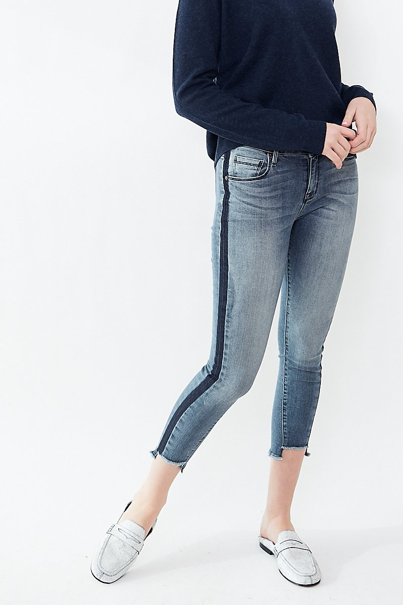 Parker Smith Twisted Seam Skinny Jean