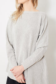 Pas de Calais High Neck Asymmetrical Sweater