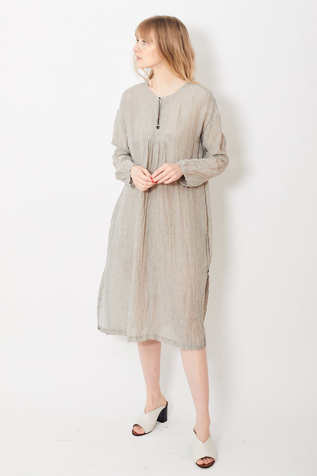 Pas de Calais Linen Stitch Dress