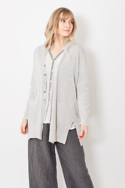 Pas de Calais Long Ribbed Cardigan