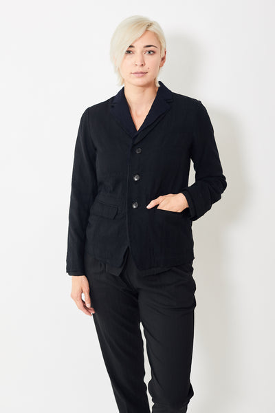 Pas de Calais Double Layer Cotton Wool Blazer