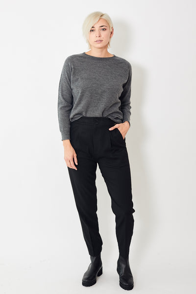 Pas de Calais Front Pleat Trousers