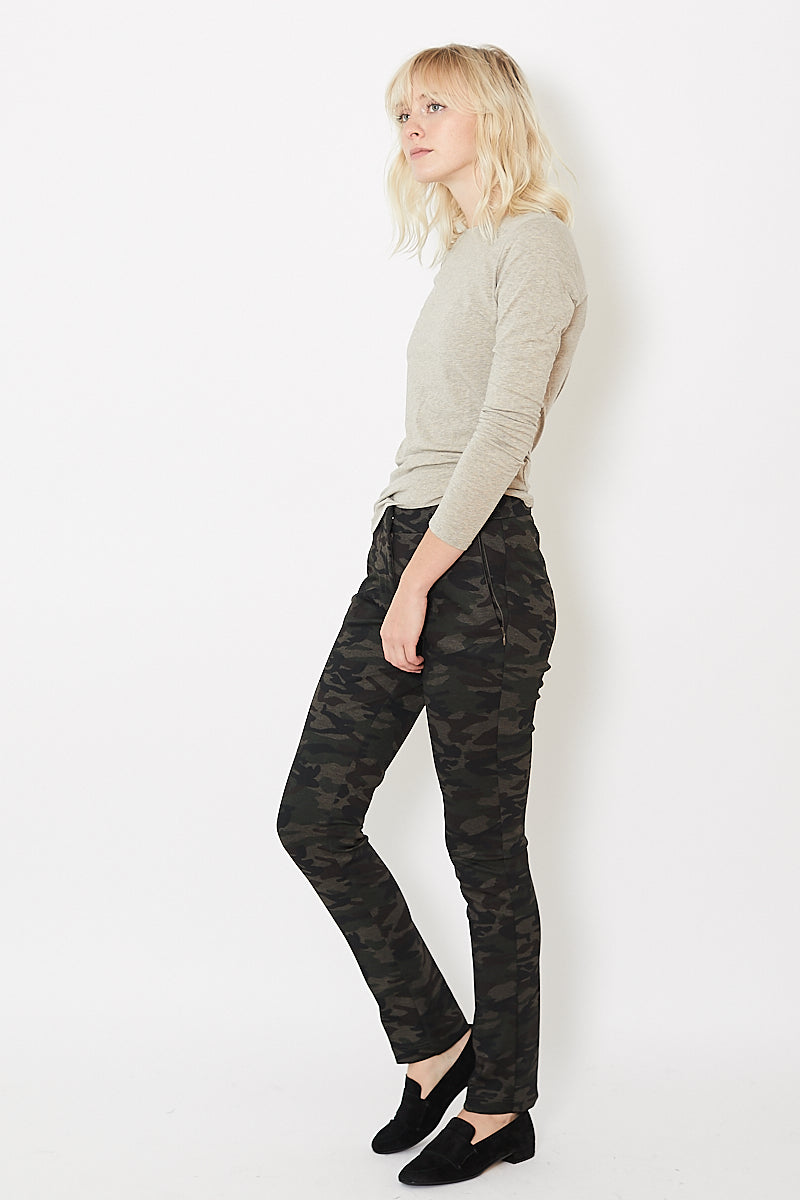 Peace Of Cloth Willow Riding Pant Print Knit