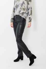 Peace of Cloth Faux Leather Jean