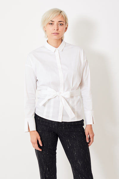 Peserico Pleated Button Down w/Belt