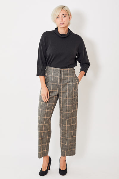 Peserico Pleated Wide Leg Trouser