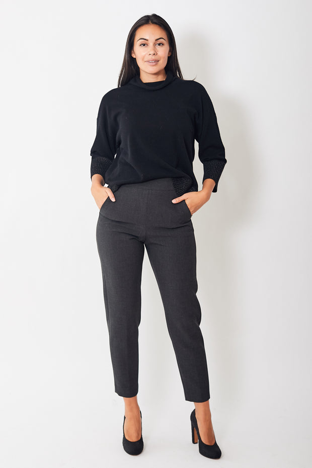 Peserico Side Zip Pant w/Elastic Back