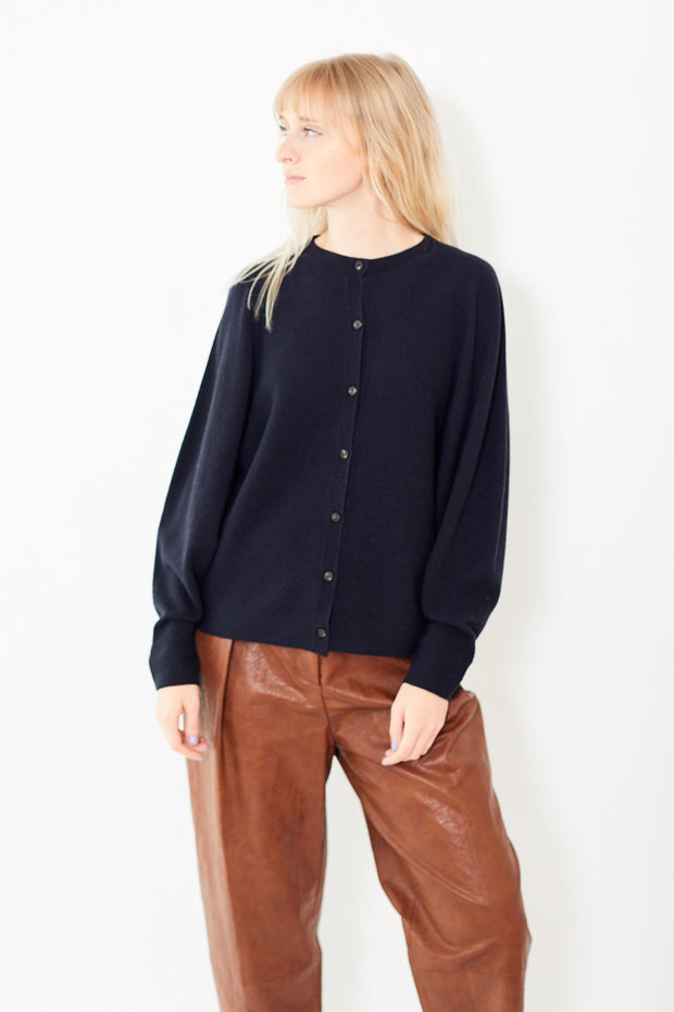 Peserico Blousson Button Front Cardigan