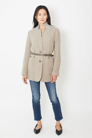 Peserico Car Coat With Belt